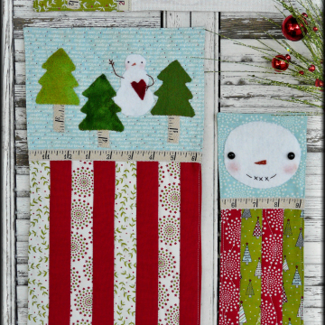 A vintage Christmas mini Quilts pattern 3 designs